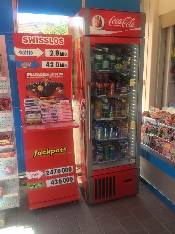 Gut laufender Kiosk in Zürich-Dietikon!